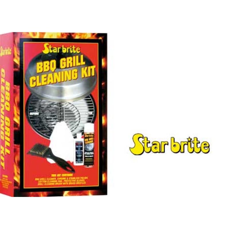 Kit de limpieza de barbacoa Star Brite