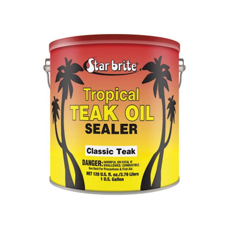 Aceite de Teka Startbrite TROPICAL 1000ML