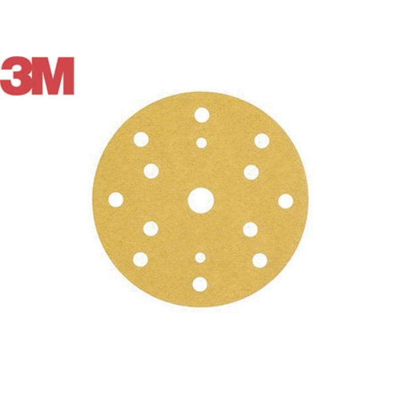 Discos abrasivos dorados 3M D150 P80