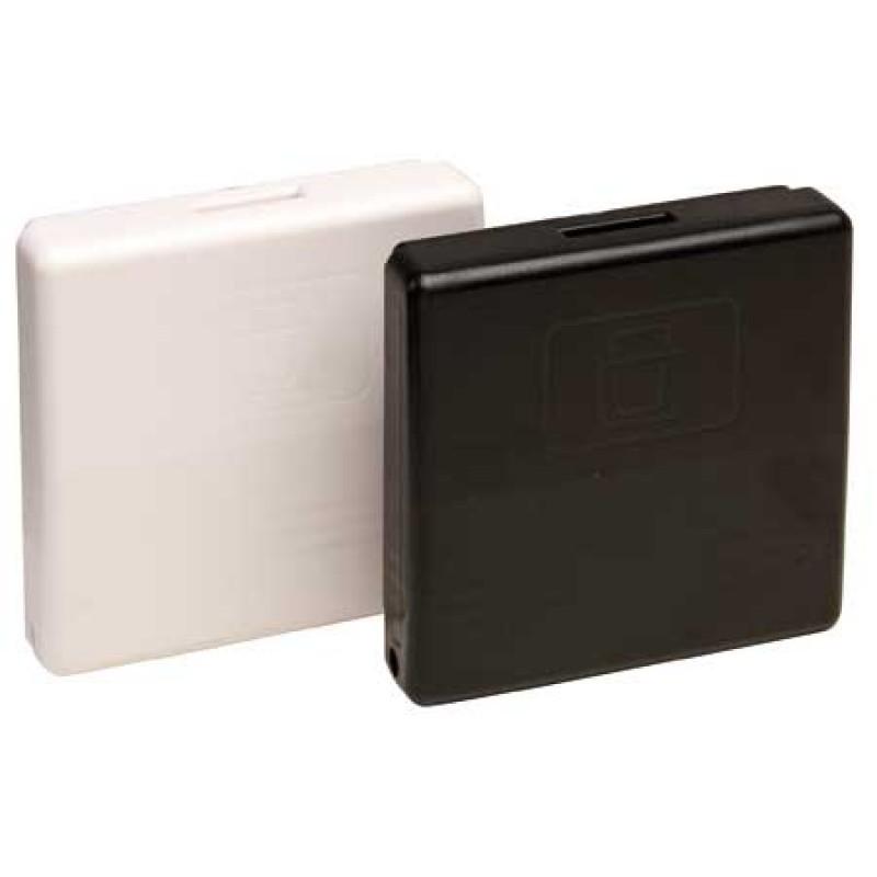 Portavasos plegable negro