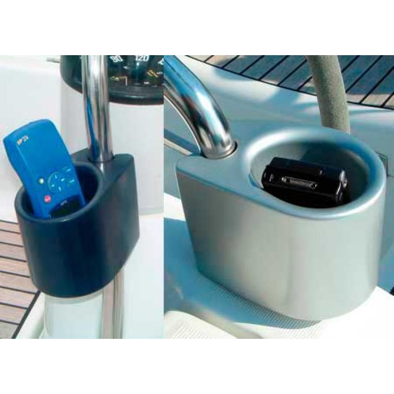 Portalatas Barandilla azul