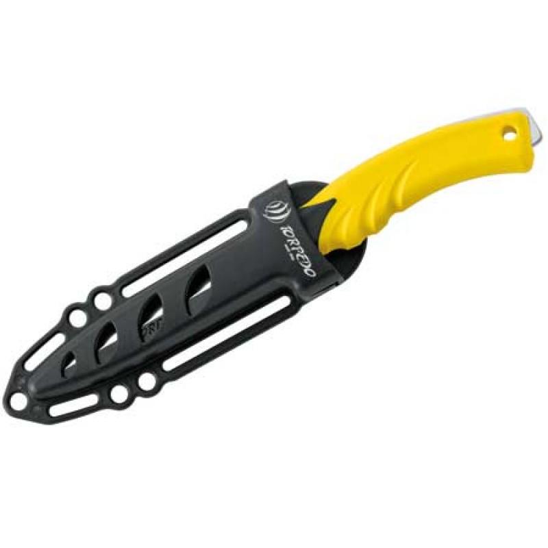 Cuchillo Torpedo amarillo