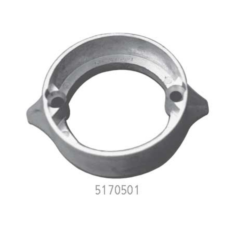 Martyr Aluminum M2 alloy anodes for Volvo Penta stern drive Collar Duo Prop 875821