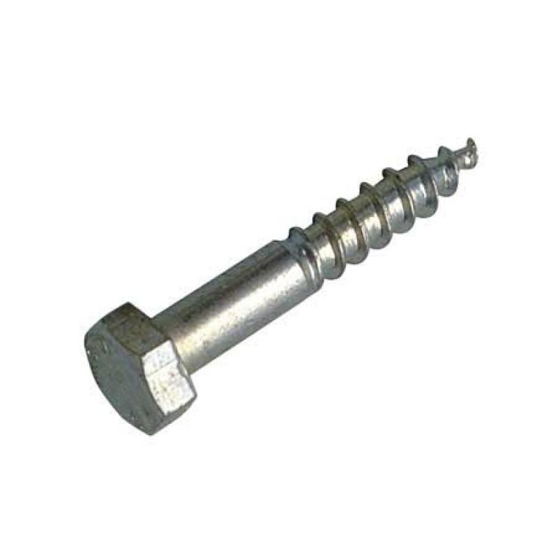 Screw Inox Din 571 A2 - 6 x 60mm - Bag 20 units