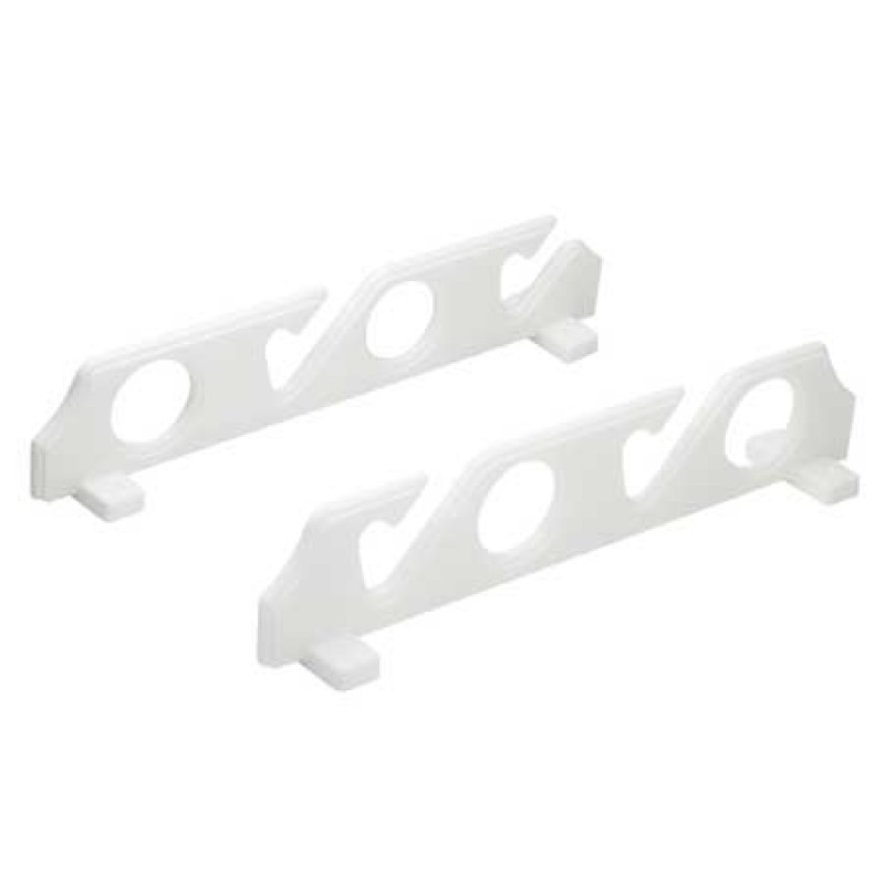 Support rod holders 4 p white