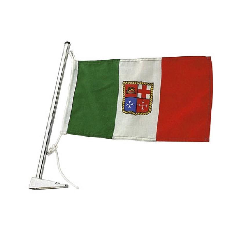 Asta de Bandera Cromada 13 x H350mm